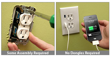 USB Wallplug
