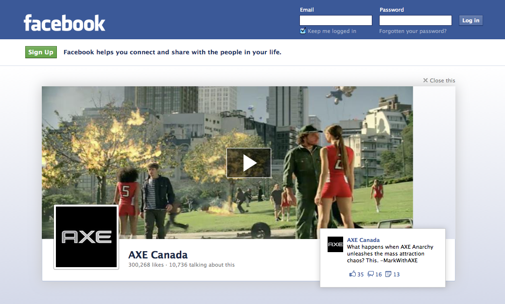 how to get your ad on facebook