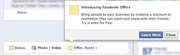 facebook offers 1