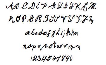 yeadonbarnill font